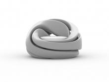 Fotelja inspirisan mobiusovom petljom