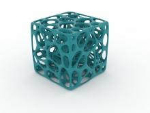 Drzac za olovke inspirisan Voronoi celijama